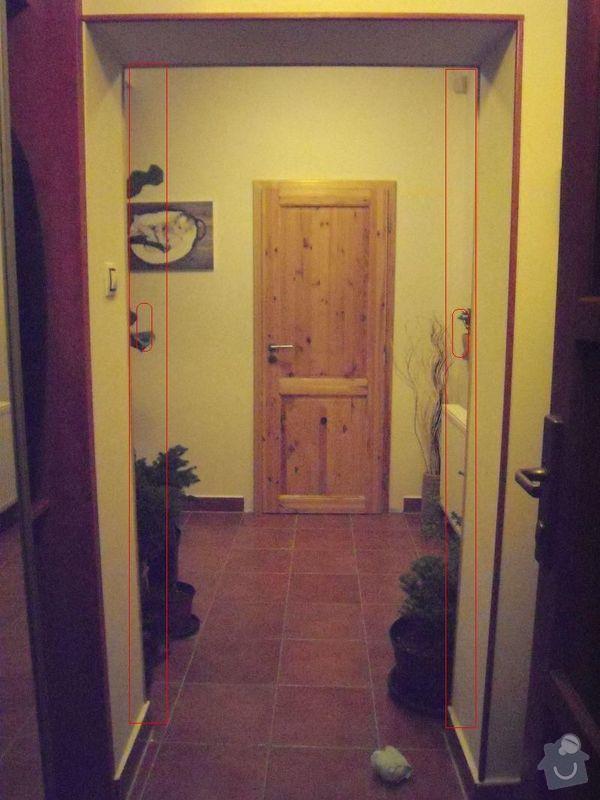 Soupaci/posuvne dvere na stenu-dvoukridle: dvere_b