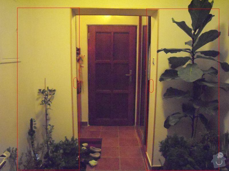 Soupaci/posuvne dvere na stenu-dvoukridle: dvere_a