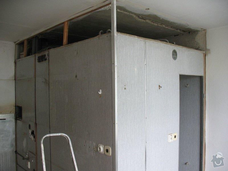 Rekonstrukce bytu 2+1 v panelovém domě: Umakartove_jadro_2613
