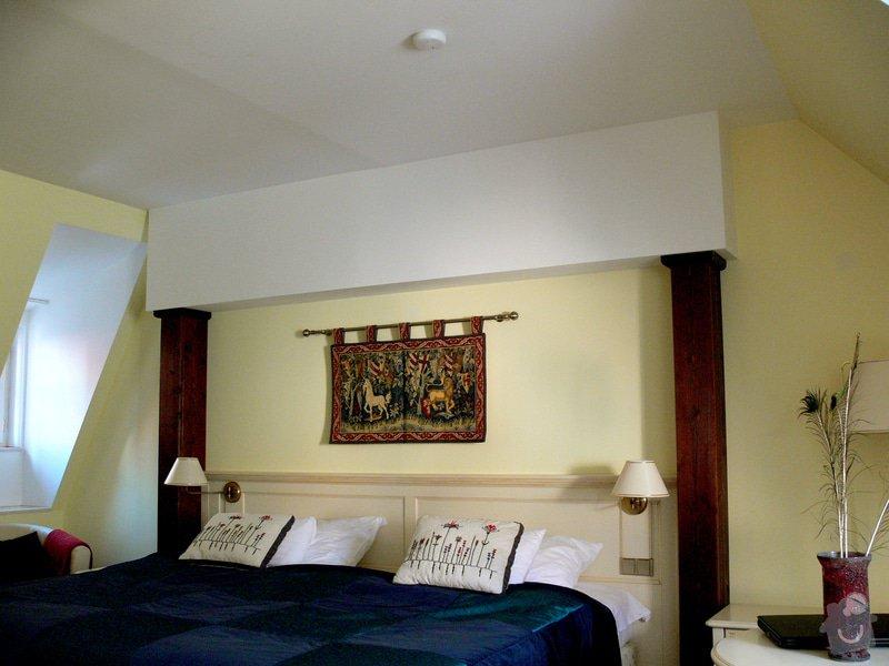 Malování a dekorace hotelového pokoje: Hotelovy_pokoj_ve_dne