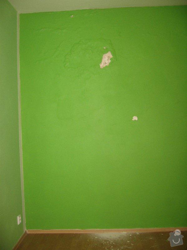 Sanace omítek, oprava sádrokartonového podhledu, zazdění výklenku, malířské práce: IMG_1710