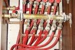 Zapojení podlahového topení, termostaty a termohlavice