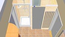 Renovace koupelny ,obklad a dlažba