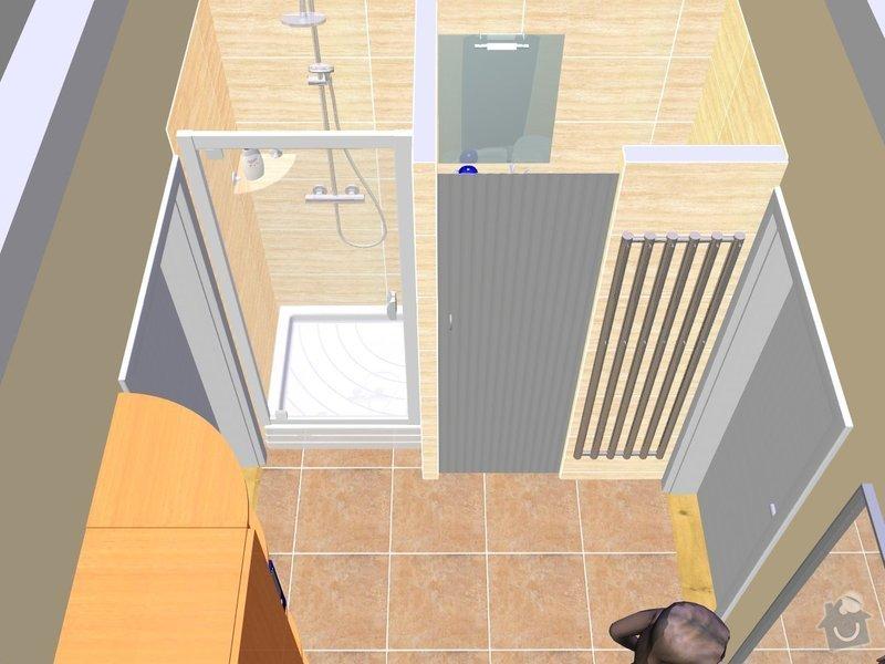 Renovace koupelny ,obklad a dlažba : 27