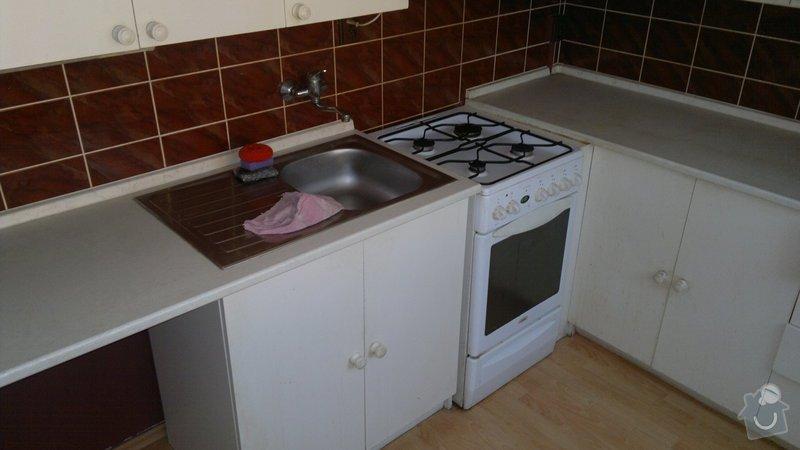 Přestavba SDK bytového jádra za zděné+rekonstrukce kuchyně a chodby: 270920112210