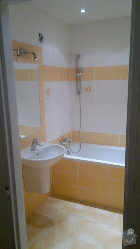 Přestavba SDK bytového jádra za zděné+rekonstrukce kuchyně a chodby: 241020112386