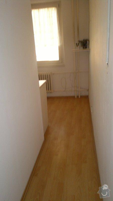 Přestavba SDK bytového jádra za zděné+rekonstrukce kuchyně a chodby: 270920112209