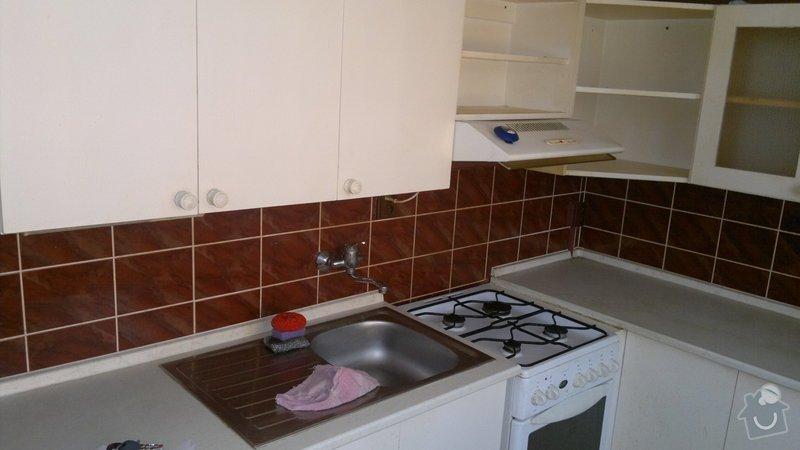 Přestavba SDK bytového jádra za zděné+rekonstrukce kuchyně a chodby: 270920112204