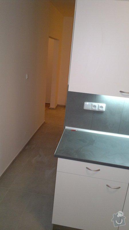 Přestavba SDK bytového jádra za zděné+rekonstrukce kuchyně a chodby: 241020112385