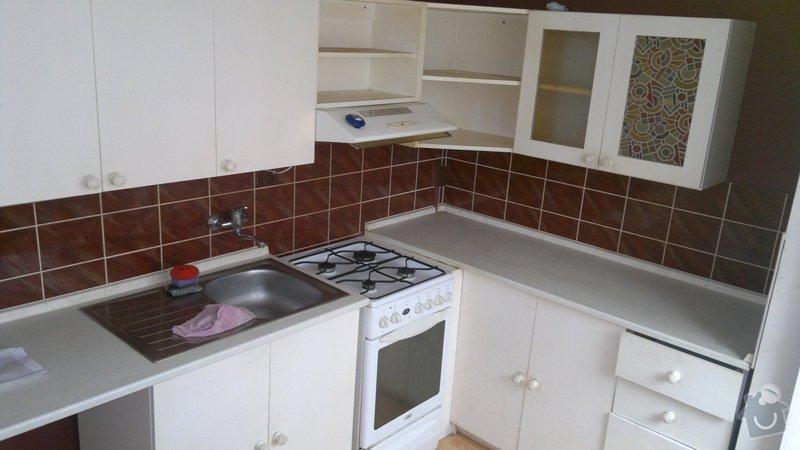 Přestavba SDK bytového jádra za zděné+rekonstrukce kuchyně a chodby: 051020112274