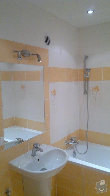 Přestavba SDK bytového jádra za zděné+rekonstrukce kuchyně a chodby: 241020112392