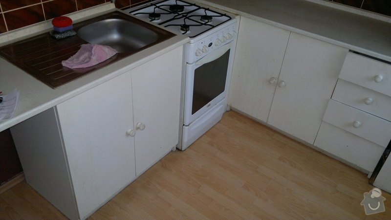 Přestavba SDK bytového jádra za zděné+rekonstrukce kuchyně a chodby: 270920112206
