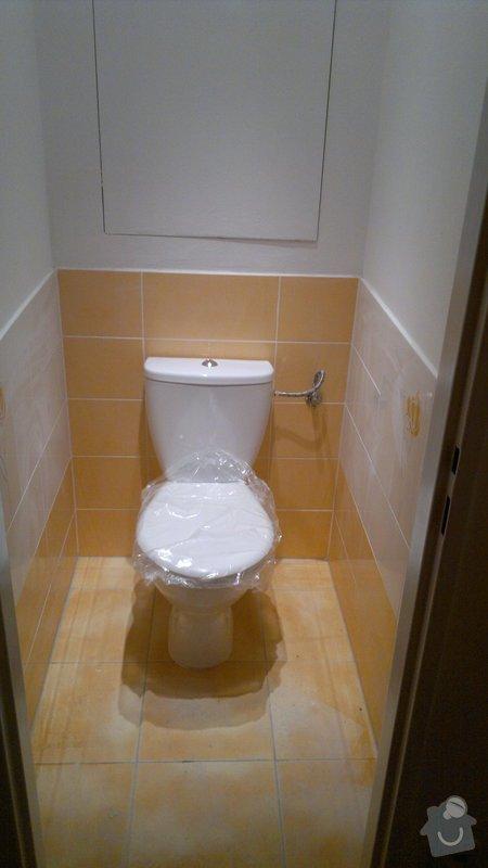 Přestavba SDK bytového jádra za zděné+rekonstrukce kuchyně a chodby: 241020112388