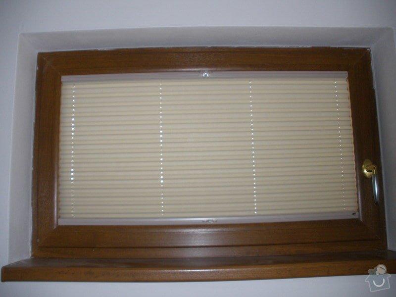 Plissé + žaluzie + Plissé do stř.oken: P2150001