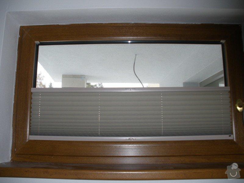 Plissé + žaluzie + Plissé do stř.oken: P2150002