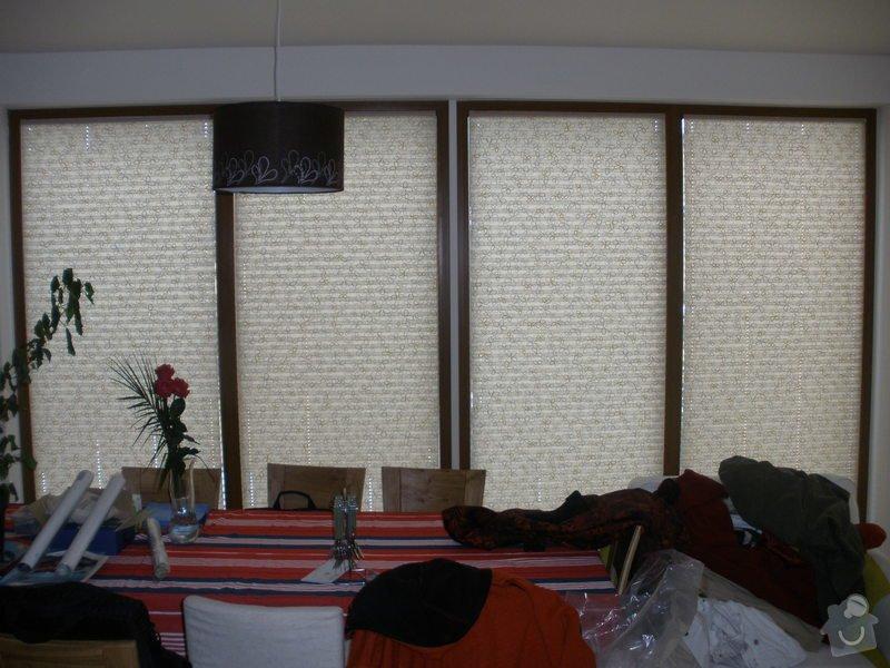 Plissé + žaluzie + Plissé do stř.oken: P2150007