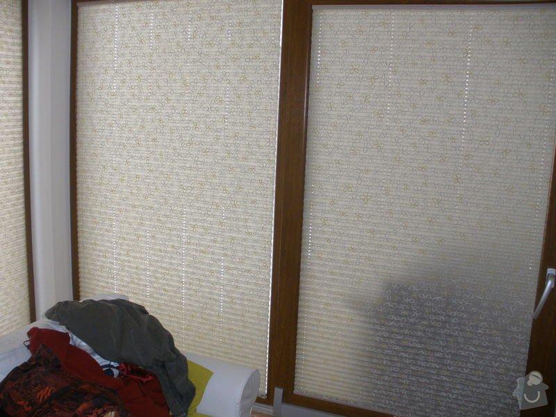 Plissé + žaluzie + Plissé do stř.oken: P2150008