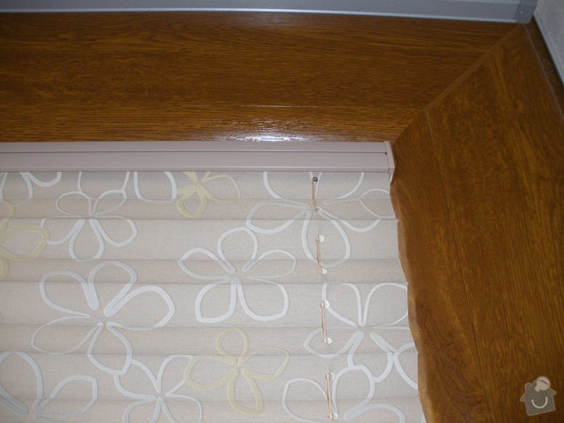 Plissé + žaluzie + Plissé do stř.oken: P2150011