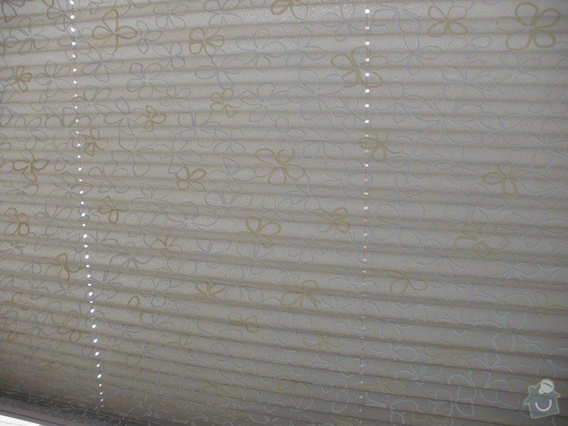 Plissé + žaluzie + Plissé do stř.oken: P2150015