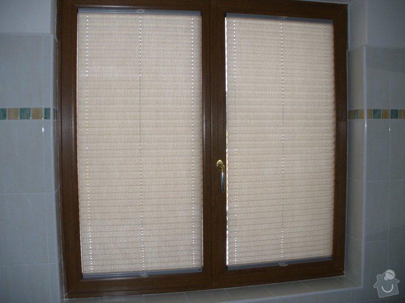 Plissé + žaluzie + Plissé do stř.oken: P2150020