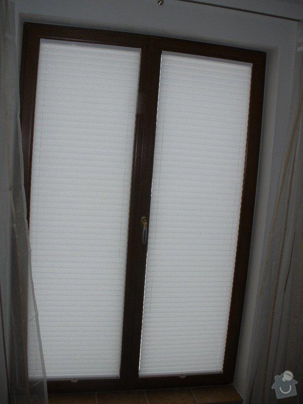 Plissé + žaluzie + Plissé do stř.oken: P2150021