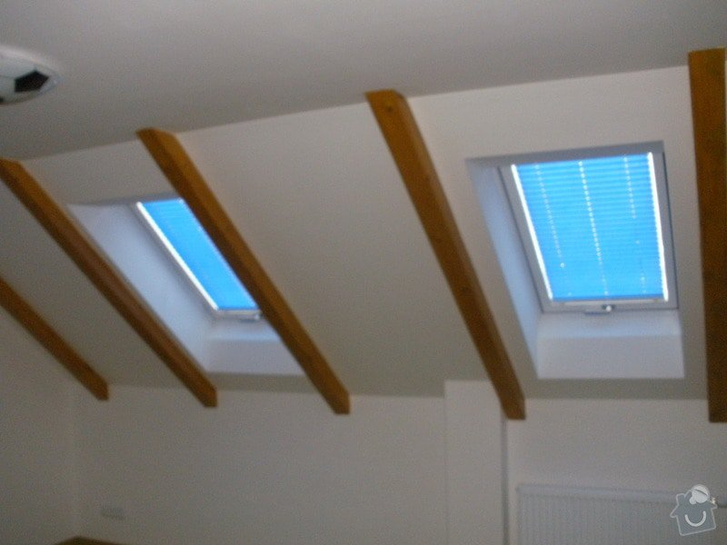 Plissé + žaluzie + Plissé do stř.oken: P2150024