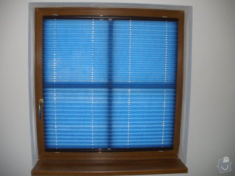 Plissé + žaluzie + Plissé do stř.oken: P2150025