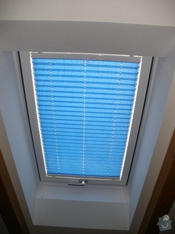 Plissé + žaluzie + Plissé do stř.oken: P2150026