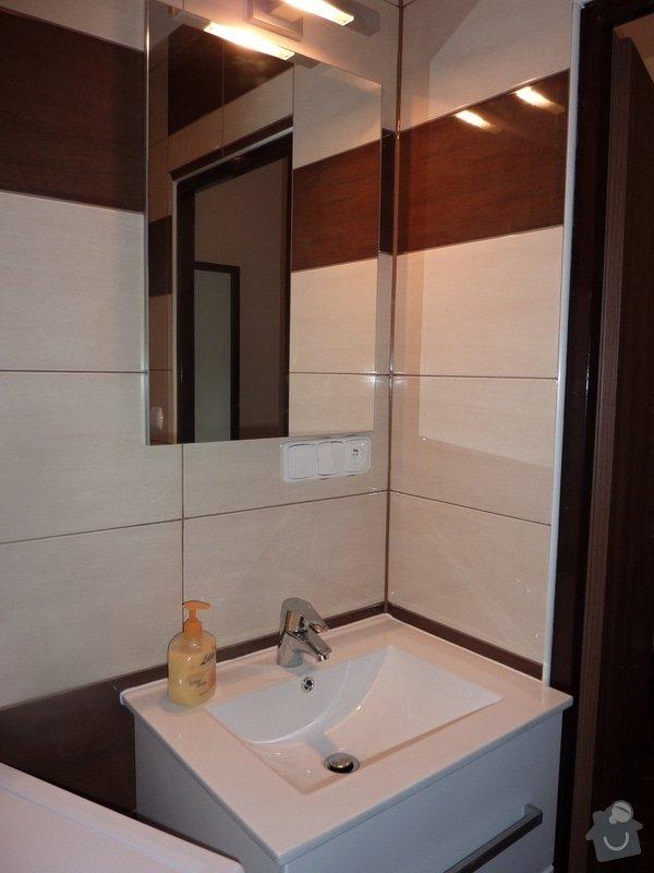 Kompletní rekonstrukce panel. bytu 3+1: Unicov-koupelna-po3