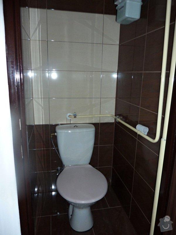 Kompletní rekonstrukce panel. bytu 3+1: Unicov-WC-po