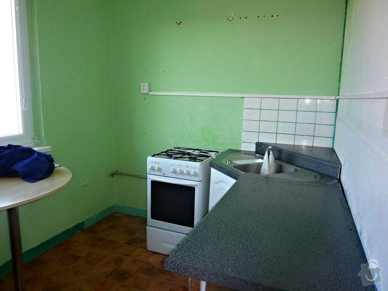 Kompletní rekonstrukce panel. bytu 3+1: Unicov-kuchyne-pred