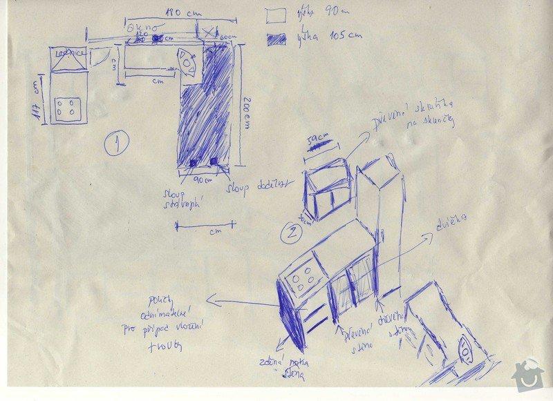 Truhlářství, stolařství - výroba kuchyňské linky: img049