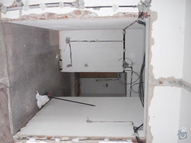 SDK příčka se zasouvacími dveřmi: 01