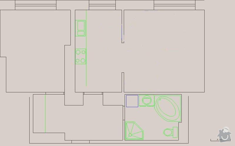 Malířské práce 2+kk 50m2: byt