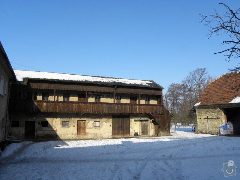 Tesařské práce - oprava dřevěné pavlače: DSCN1091
