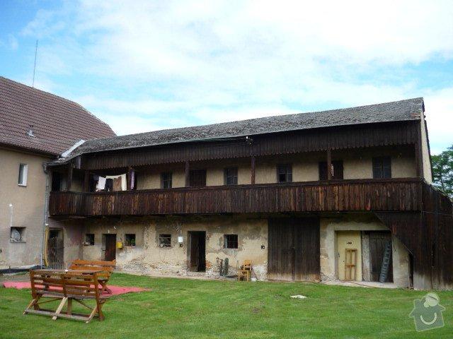 Tesařské práce - oprava dřevěné pavlače: Spejchar