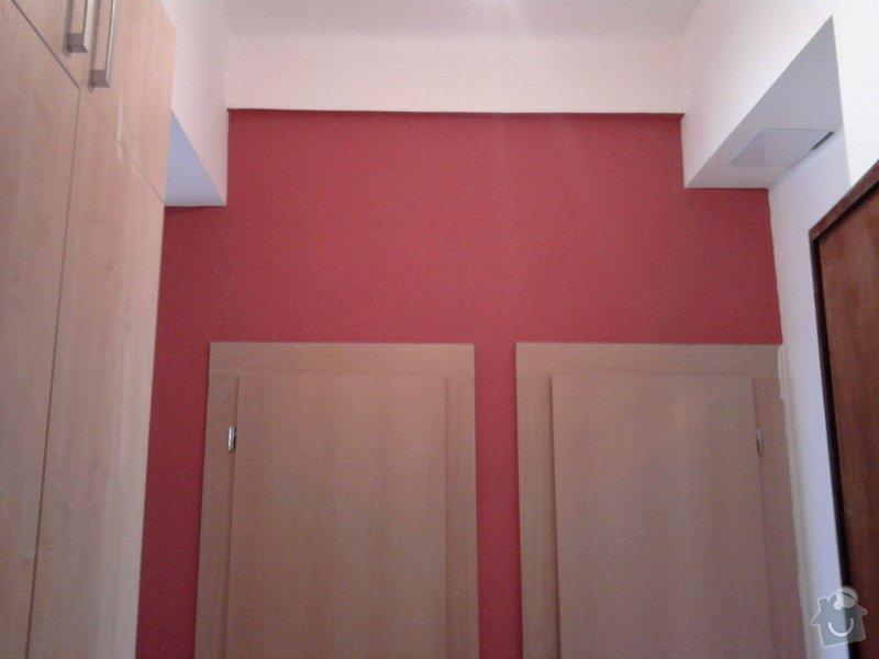 Renovace omítek,stropů,špalety,nátěr radiátorů,malířské práce: Fotografie0388