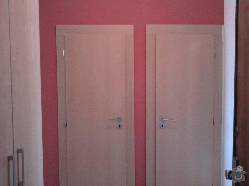 Renovace omítek,stropů,špalety,nátěr radiátorů,malířské práce: Fotografie0389