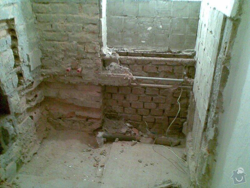 Rekonstrukce koupelny: 06102011