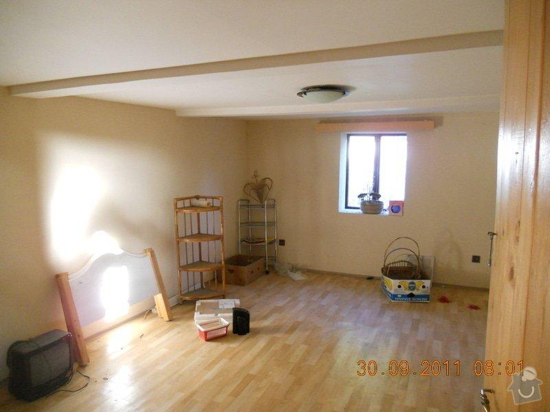Rekonstrukce patra rodinného domu včetně výměny dřevěných částí střechy: DSCN0193