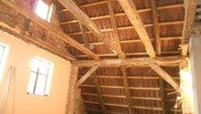 Rekonstrukce patra rodinného domu včetně výměny dřevěných částí střechy