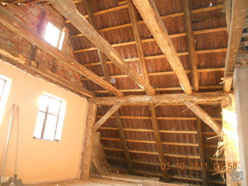 Rekonstrukce patra rodinného domu včetně výměny dřevěných částí střechy: DSCN0208
