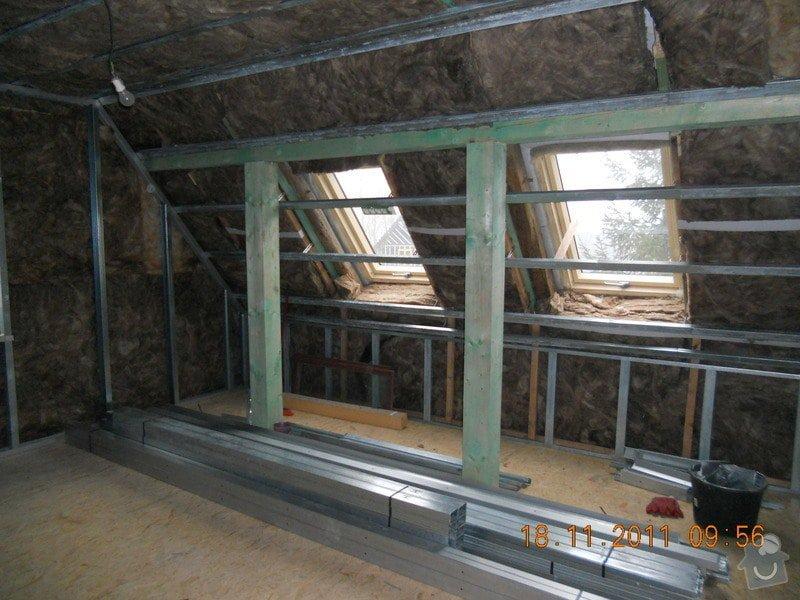 Rekonstrukce patra rodinného domu včetně výměny dřevěných částí střechy: DSCN0302