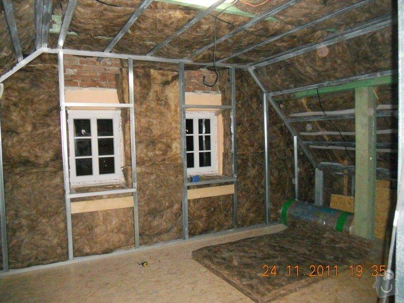 Rekonstrukce patra rodinného domu včetně výměny dřevěných částí střechy: DSCN0312