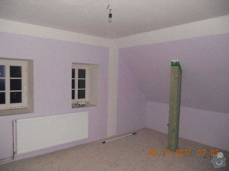 Rekonstrukce patra rodinného domu včetně výměny dřevěných částí střechy: DSCN0437