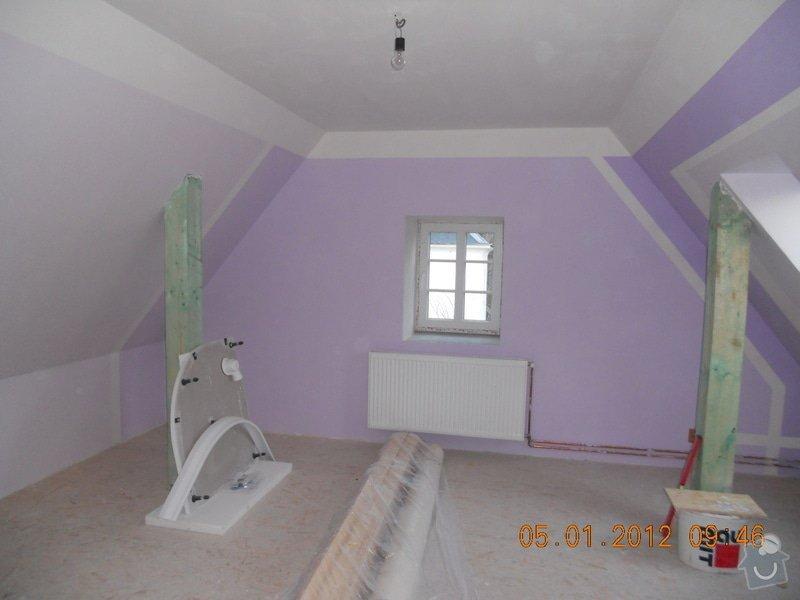 Rekonstrukce patra rodinného domu včetně výměny dřevěných částí střechy: DSCN0449
