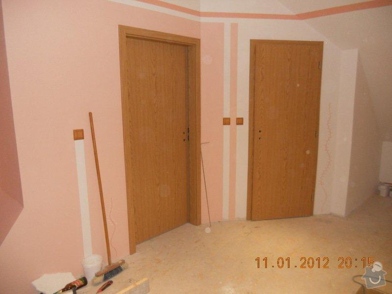 Rekonstrukce patra rodinného domu včetně výměny dřevěných částí střechy: DSCN0469