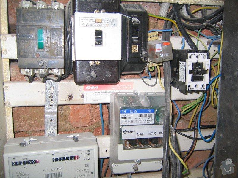 Elektrikářské práce: 198_9841