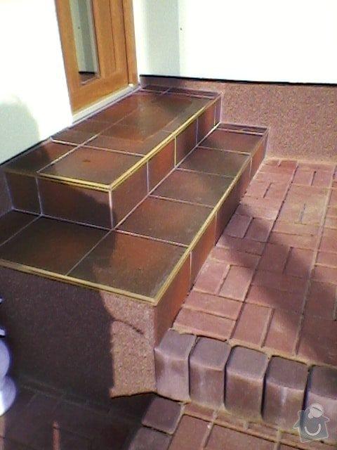 Teréní úpravy,zámková dlažba+obložení schodů: SP_A0054