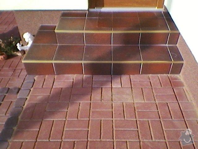 Teréní úpravy,zámková dlažba+obložení schodů: SP_A0055